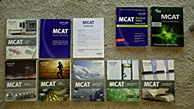 Best Kaplan Test Prep MCAT 2012 (Lesson Book, Physics Review Notes, General Chemistry Review Notes, Verbal Reasoning Review Notes, Organic Chemistry Review Notes, Biology Review Notes; NOT ALL FLASH CARDS ARE IN SET, BUT SOME ARE INCLUDED) (Paperback) Review