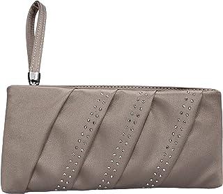 Made Italy Handtaschen Damen satin beige