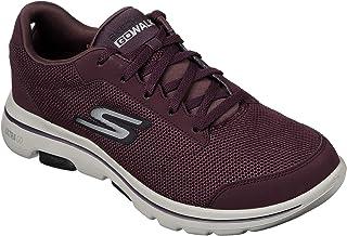 Skechers Men's Gowalk 5 Demitasse-Textured Knit Lace Up Performance Walking Shoe Sneaker