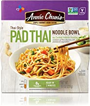Annie Chun's Pad Thai Noodle Bowl, Non-GMO, Vegan, 8.1-oz (Pack of 6), Microwaveable, Ready Meal