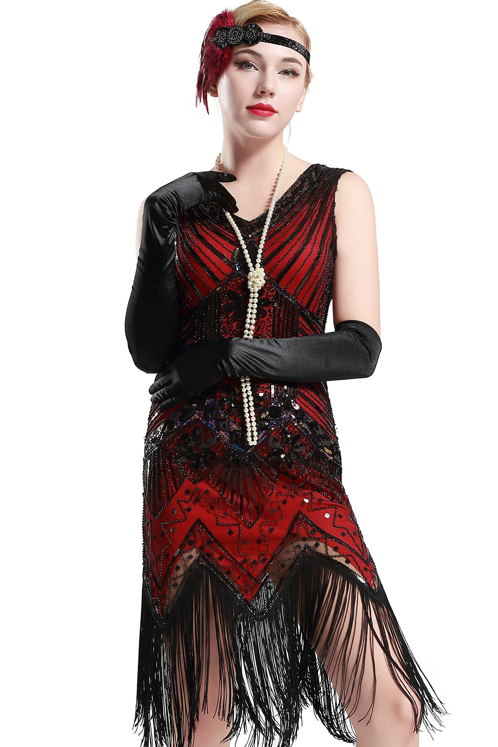 Red Dress - Women's One Shoulder Sleeveless Knee Length Side Split Fashion Bandage Dress