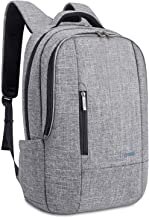 Laptop Backpack with Bubble Pad,DTBG Nylon Durable Water Resistant Mens / Womens Business Travel Backpack Knapsack College Shoulder Back Pack School Bag Computer Bag for Up to 17.3 Inch Laptops,Grey