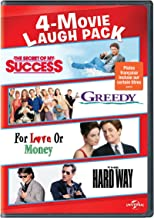 4-Movie Laugh Pack: The Secret of My Success/ Greedy / For Love or Money/ The Hard Way