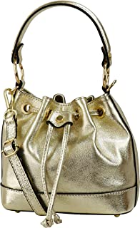 SH Leder Schnürbeutel echt Leder Hobo Bag Beuteltasche Umhängetasche Rindledertasche Damen 20x17cm Kiara G578
