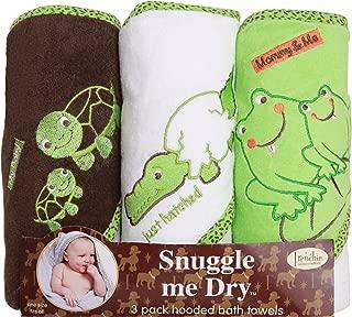 Frenchie Mini Couture /«/Me and My Baby//» Lot de 3/serviettes de bain /à capuche avec motifs danimaux