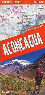 Aconcagua Provincial Park (Argentina) 1:50,000 Trekking Map, laminated, GPS-compatible