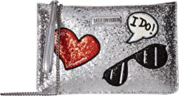 LOVE Moschino Sparkling Zip Crossbody