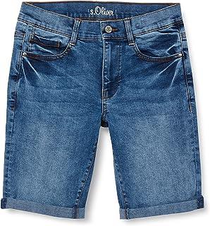 s.Oliver Junior 402.10.106.26.180.2064999 Pantalones Cortos de Jean, 56Z6, 158 para Niños