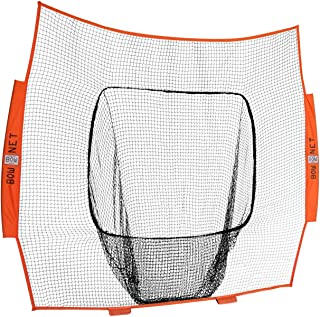 Bownet 7' x 7' Big Mouth  Wiffle  Sock Training Net (Net Only)