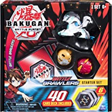 Bakugan, Battle Brawlers Starter Set with Transforming Creatures, Haos Howlkor, for Ages 6 & Up