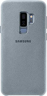Samsung Alcantara Case for Galaxy S9+ - Pale Blue