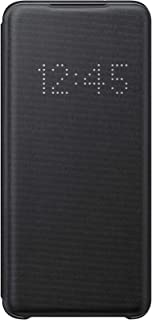 Samsung LED View Smartphone Cover EF-NG980 für Galaxy S20   S20 5G Handy-Hülle, LED-Anzeige, Kartenhalterung, schwarz - 6....