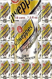 Schwepps diet tonic water sleek, 7.5 fl oz, 18 cans