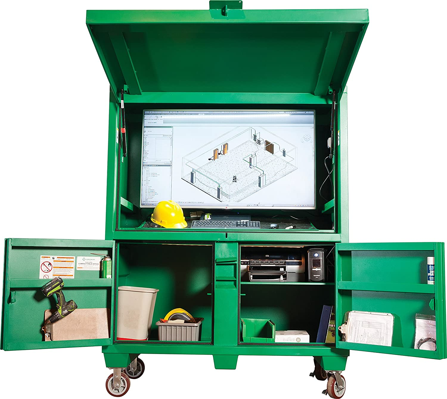 Greenlee Sale SALE% OFF - Compact Cheap mail order shopping Field 7060-CFO Green Storage Office
