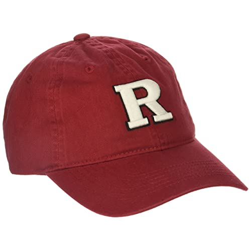 buy online 6f925 44a31 Zephyr NCAA Rutgers Scarlet Knights Men s Scholarship Relaxed Hat,  Adjustable Size, Team Color