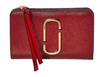 Marc Jacobs Snapshot Compact Wallet (Cranberry Multi) Wallet Handbags