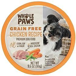 Whole Paws Grain Free Premium Dog Food, Chicken Recipe, 3.5 Oz