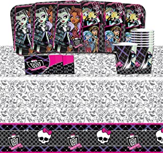 Monster High Complete Birthday Tableware Pack for 16