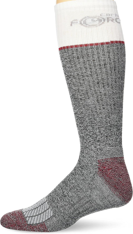 Carhartt mens Force Performance Steel Toe Crew Socks 2 Pair Pack