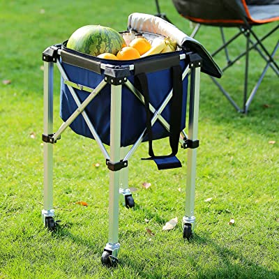 Suntime Collapsible Cooler with Removable Stand...