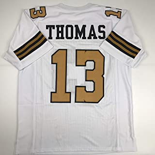 Unsigned Michael Thomas New Orleans Color Rush Custom Stitched Football Jersey Size Men's XL New No Brands/Logos