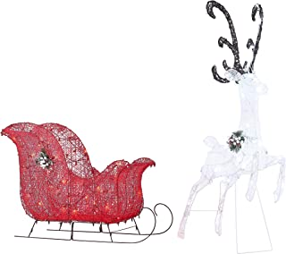 Best reindeer and sleigh decorations Reviews