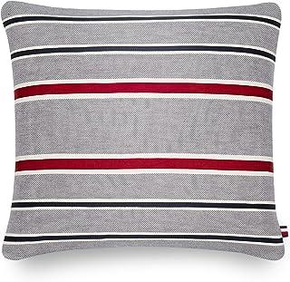 Best Tommy Hilfiger Applique Stripe Decorative Pillow, 20x20 inch, Multi Review