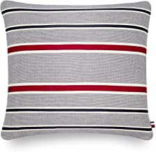 Tommy Hilfiger Clash of '85 Stripe Bedding Collection Decorative Pillow, 15x20, Red/Wht/Blue