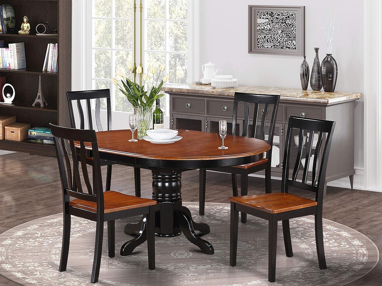 Amazon.com East West Furniture Kitchen Set 9 Fantastic Room ...