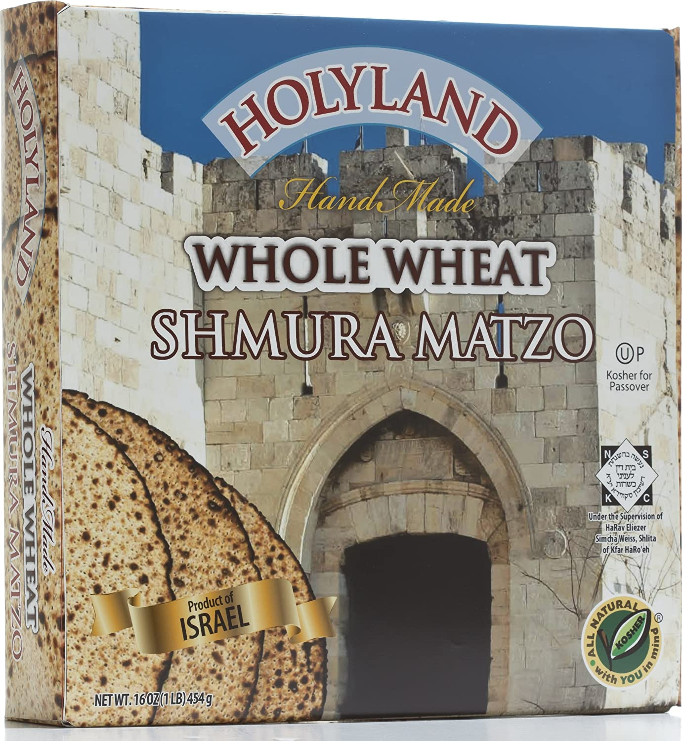 Holyland Whole Wheat Shmura Matzo Max 74% Our shop OFFers the best service OFF Ounce 16