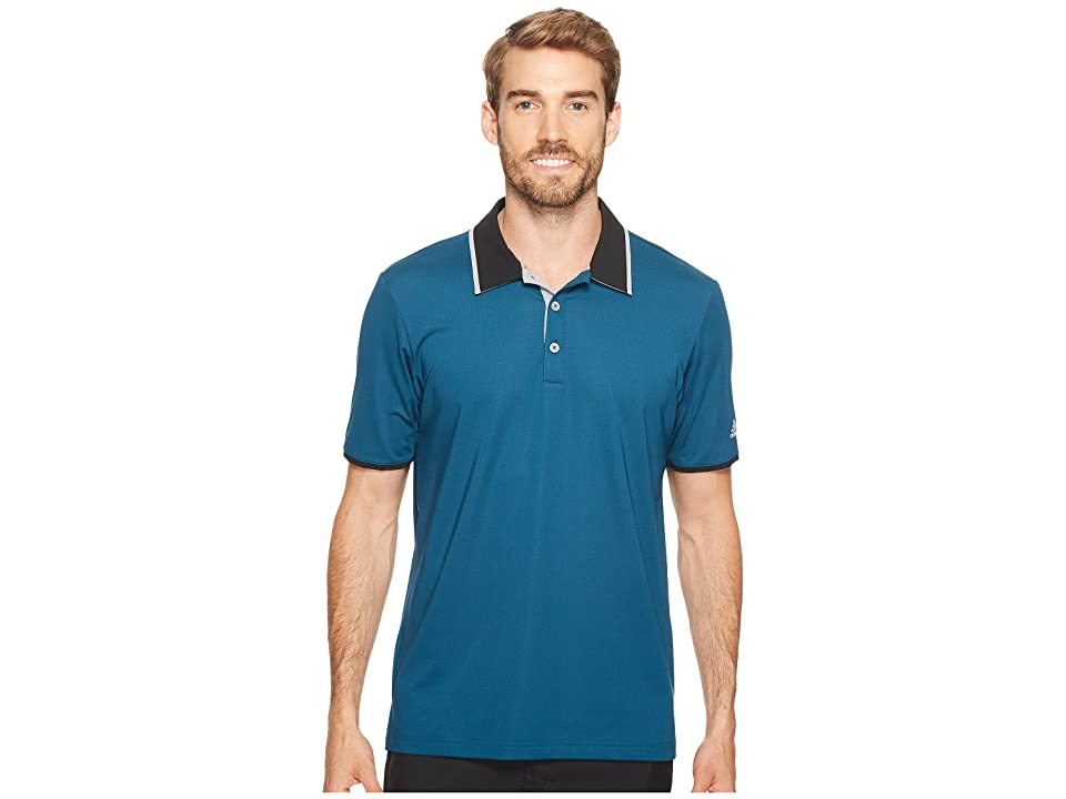 adidas Golf Climacool Performance Polo (Petrol Night) Men