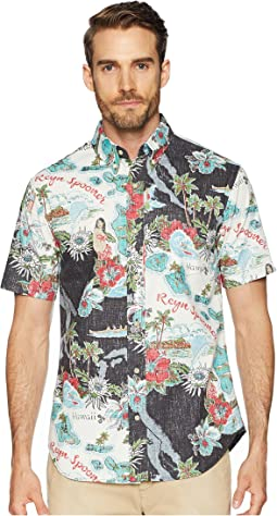 Status Oceanic Tailored Fit Aloha Shirt