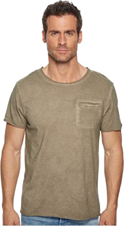 Zeke Rainwash Pocket Crew T-Shirt