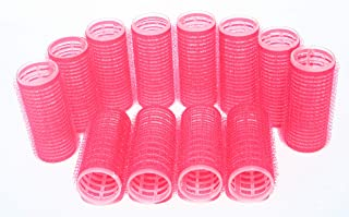 Small Size Hair Rollers Curlers Multicolor Self Grip Cling Nylon Plastic Sticky Curling Tools Pro Salon Hairdressing Curlers Or DIY Curly Hairstyle Color Random By MINGHU (20mm 7/8