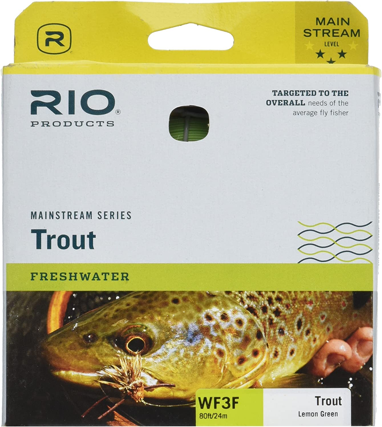 Rio Mainstream Trout Weight Forward Fly Line  Fly Fishing
