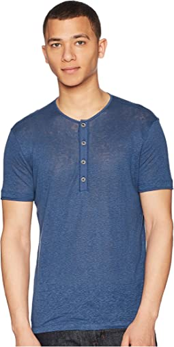 John Varvatos Collection Short Sleeve Henley K1368U1