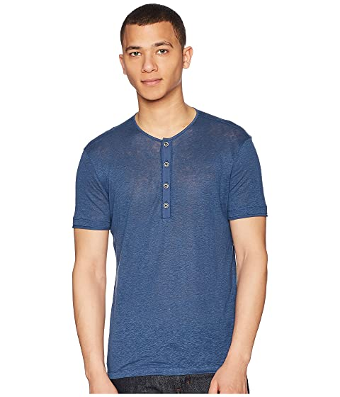 Henley Short John Sleeve Varvatos Collection K1368U1 qHxCSI