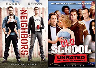 Frank the Tank's Approved Wacky Neighbor Collection: Neighbors & Old School 2-DVD Double Feature Bundle