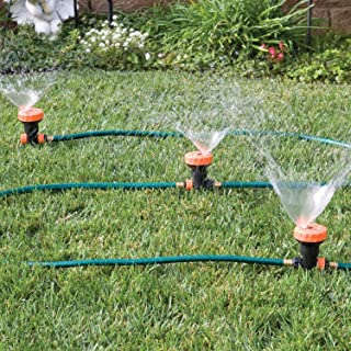 Bandwagon 3 in 1 Portable Sprinkler System with 5 Spray Settings