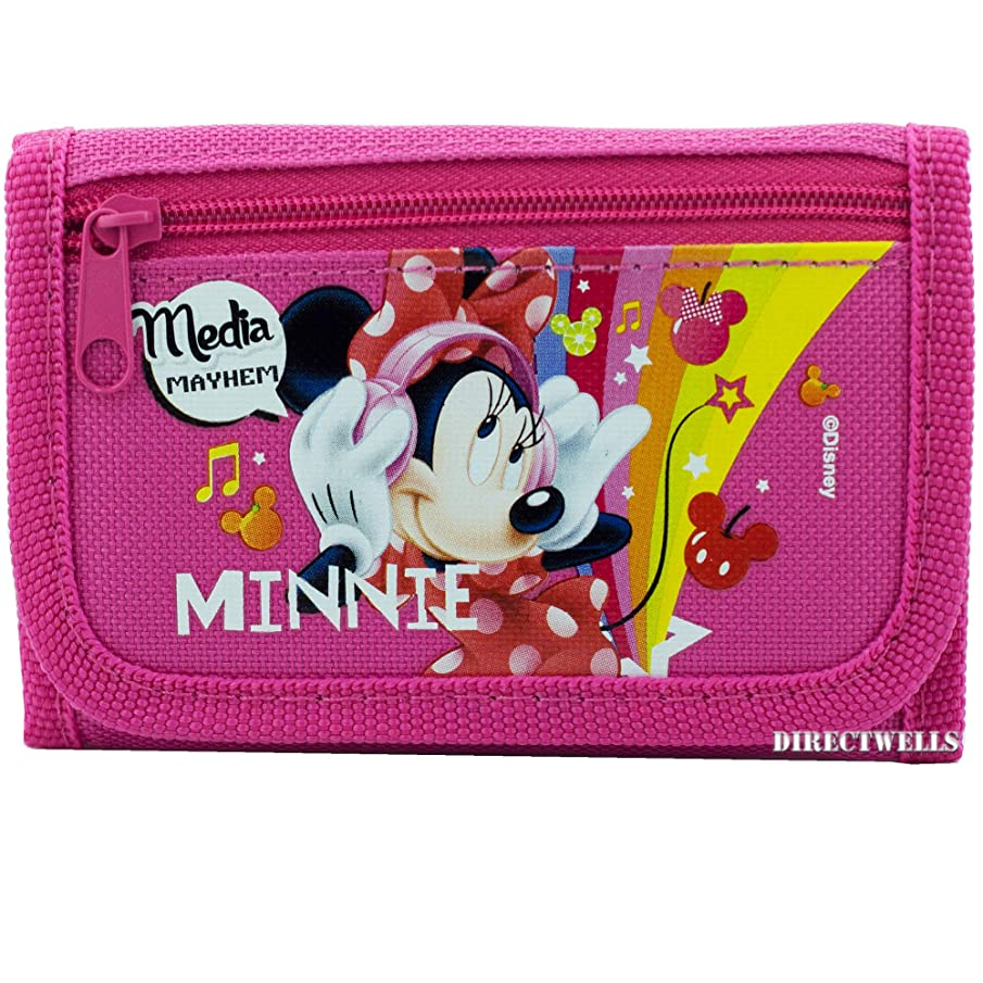 Disney Minnie Mouse Authentic Licensed Pink Wallet