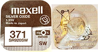 MAXELL 371 Mikrobatterie silberoxide