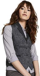 bc960711f196 Simon Jersey Women's Wool Tweed Waistcoat