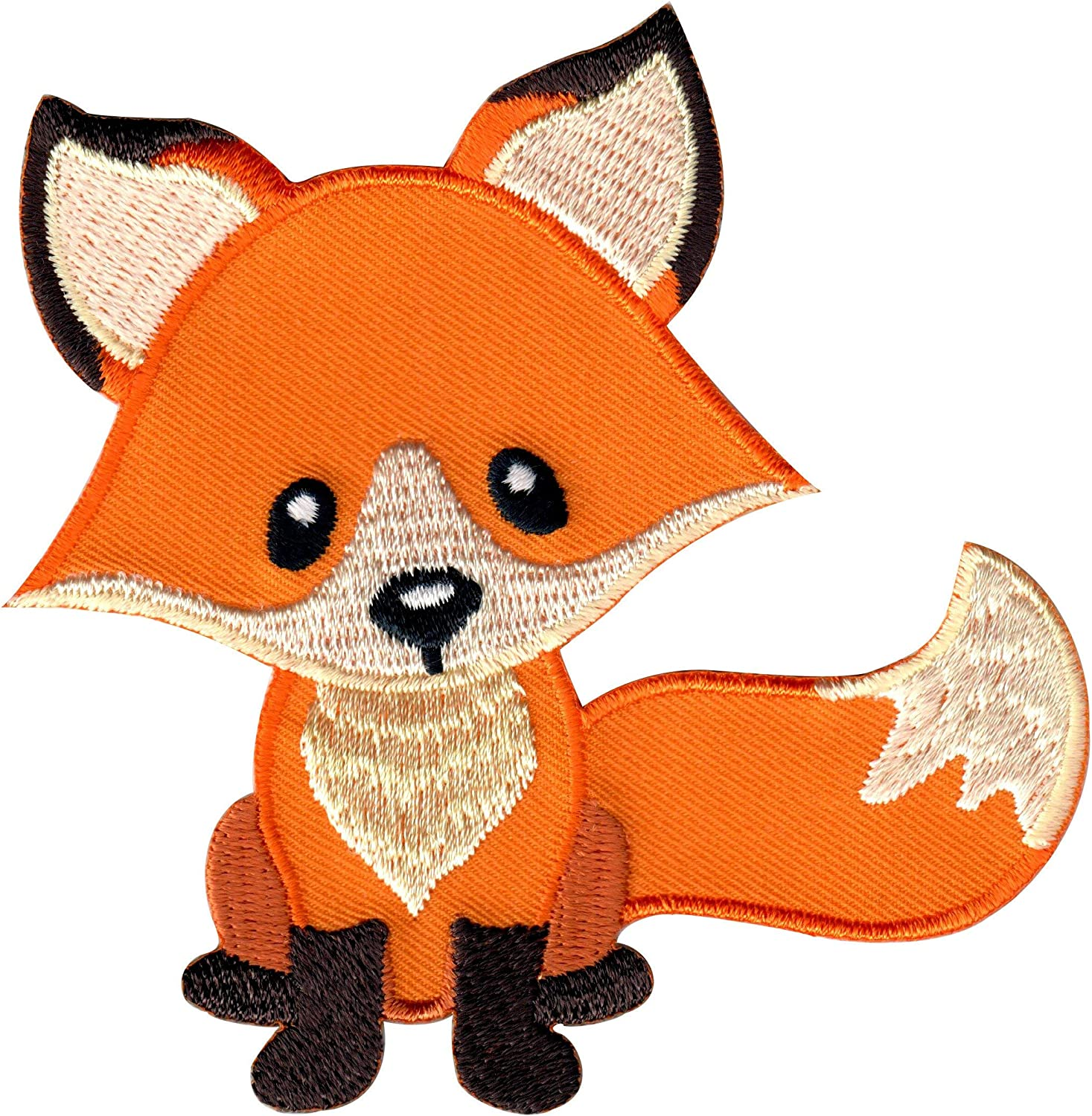PatchMommy Fox OFFicial site Patch Iron On Sew Kids for Appliques Childr Long Beach Mall -