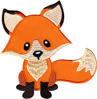 PatchMommy Fox Patch, Iron On/Sew On - Appliques for Kids Children