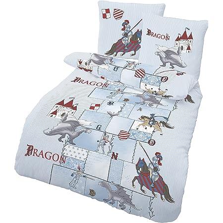 Dragons Drachenzähmen leicht gemacht 2 x Bettwäsche Set Wendebettwäsche 140x200