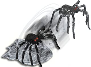 21 Inch Black Jumping Spider Animatronic