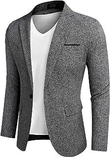 COOFANDY Men`s Casual Sports Coats Dress Blazer Stylish Lightweight Suit Jackets