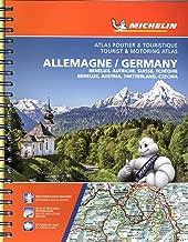 Michelin Germany, Benelux, Austria, Switzerland, Czechia Tourist & Motoring Atlas (bi-lingual): Road Atlas