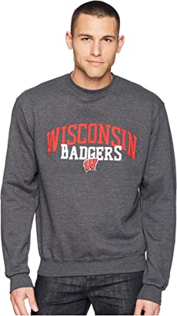 Champion College Wisconsin Badgers Eco® Powerblend® Crew