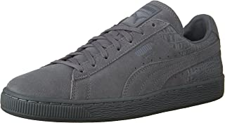 Men's Suede Classic Casual Emboss Fashion Sneaker